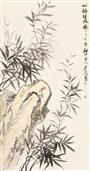 《四时清风拂》175x94cm 纸本水墨 2017年
